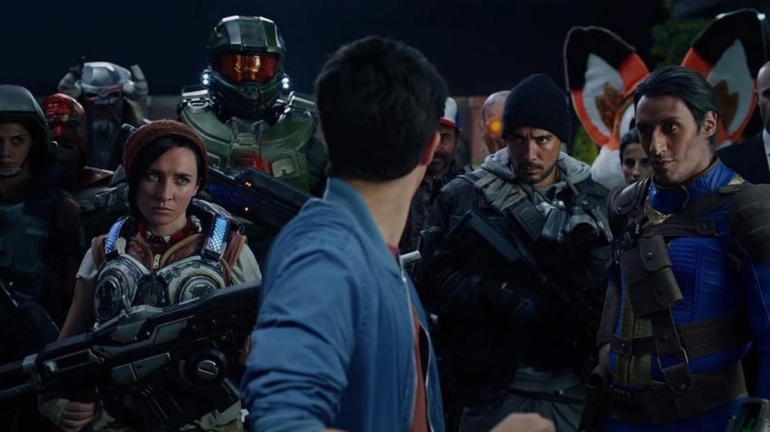 Όλοι οι αγαπημένοι ήρωες των video games στο κορυφαίο βίντεο του Xbox