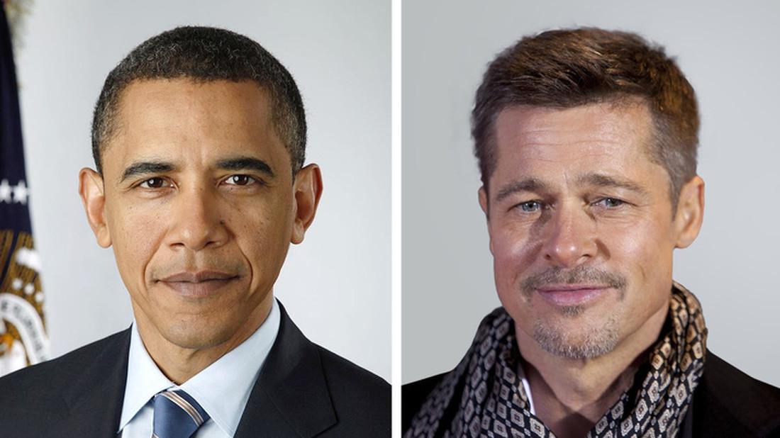 Ήξερες ότι ο Ομπάμα έχει συγγένεια με τον Μπραντ Πιτ;