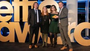 To DUO βραβεύεται ως Brand of the Year στα Effie Awards Hellas