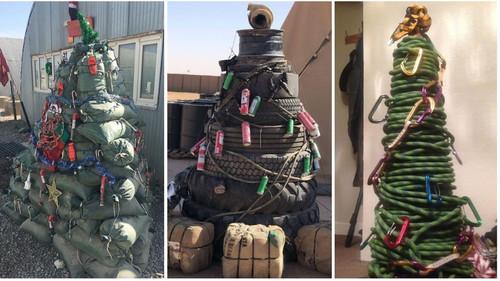 Αν δεν έχεις λεφτά για Χριστουγεννιάτικο δέντρο, φτιάξε ένα μόνος σου