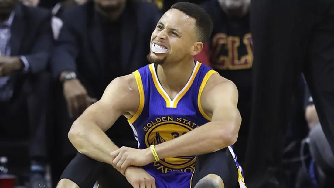 Καημένε Steph Curry, τι σου 'μελλε να πάθεις...
