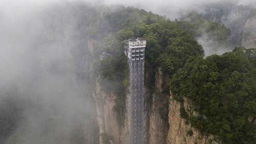 Αυτός είναι ο μεγαλύτερος ανελκυστήρας στον κόσμο