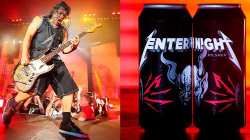 Μετά το Ουίσκι οι Metallica βγάζουν ΚΑΙ μπύρα