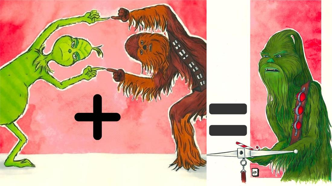 Τι προκύπτει αν προσθέσεις τον Grinch με τον Chewbacca;