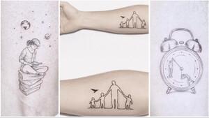 12 σχέδια που υπερβαίνουν τη λογική των «ρηχών» τατουάζ