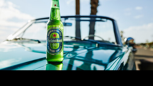 Heineken 0.0:  Μοναδικά υπέροχη γεύση, με 0.0% περιεκτικότητα σε αλκοόλ