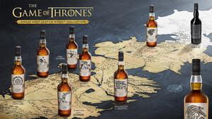 Κατέφτασε η συλλεκτική σειρά οκτώ Single Malt Scotch Whisky, εμπνευσμένη από το Game of Thrones