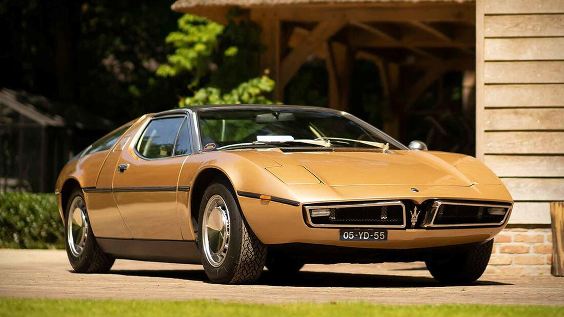 H Maserati Bora '73 αποτελεί το κόσμημα μιας εποχής