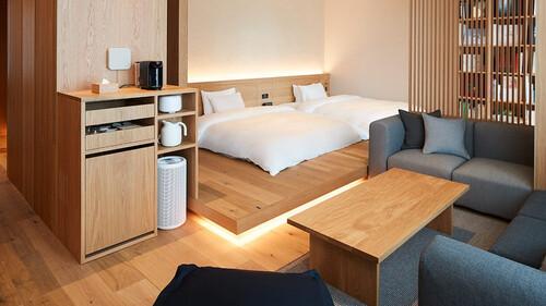Muji Tokyo Hotel: Αγάπη για το minimal