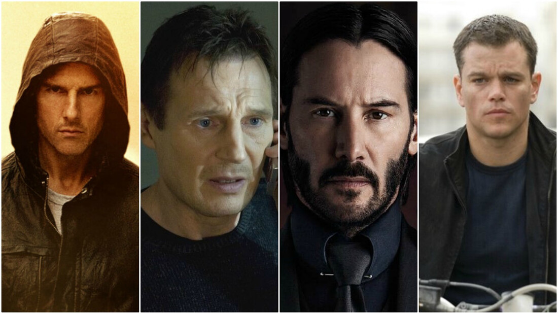 Poll: Ποιος είναι ο καλύτερος action hero του κινηματογράφου;