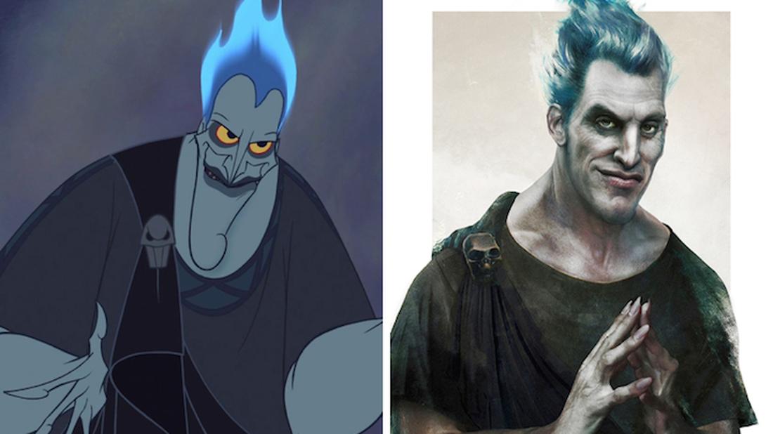 Ένας ζωγράφος σου δείχνει πώς θα έμοιαζαν 5 πατεράδες της Disney αν ήταν πραγματικοί