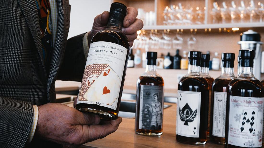 Δημοπρατείται η πιο σπάνια συλλογή ιαπωνικών ουίσκι