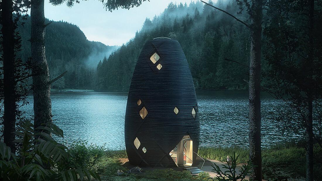 Μία εξωγήινη κατοικία επί Γης