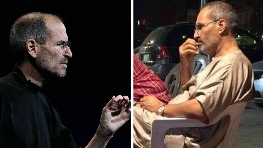 Αν ο Steve Jobs πίνει καφέ στην Αίγυπτο, οι υπόλοιποι διάσημοι τι κάνουν;
