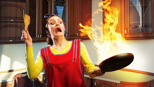 Τα χειρότερα ατυχήματα που συνέβησαν ποτέ στην κουζίνα! (pics+vid)