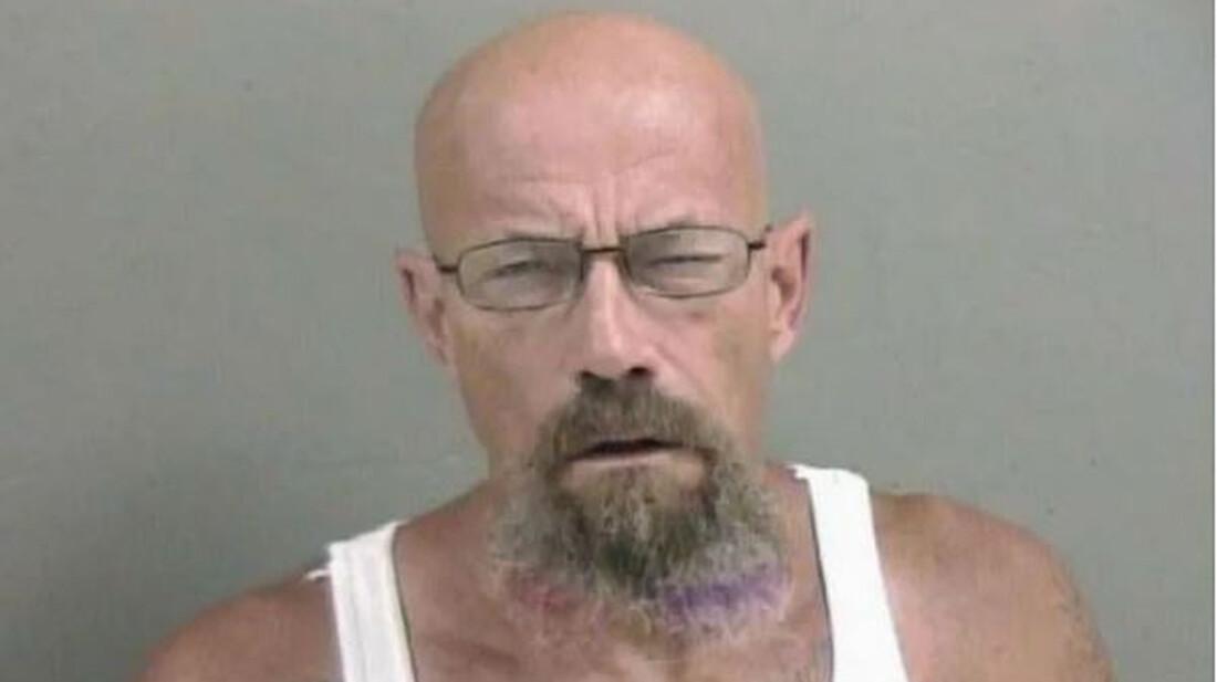 Σε άλλα νέα η αστυνομία ψάχνει έναν τύπο που μοιάζει στον Walter White