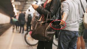 Πώς να μην σας κλέψουν στο μετρό