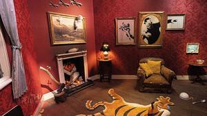 Θα έβαζες έναν Banksy στο σαλόνι σου;