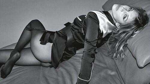 Η σέξι φωτογράφηση της Bella Hadid για τη Vogue