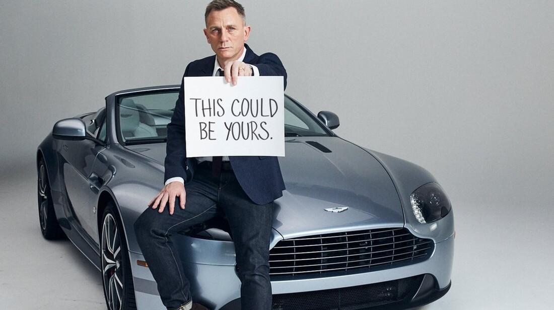 Όταν ο Daniel Craig σχεδίασε τη νέα Aston Martin