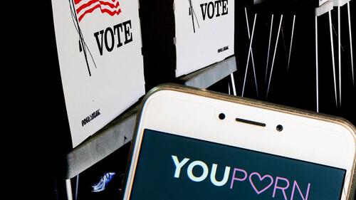 Στην Αμερική φαίνεται πως χρειάζονται συνδρομή σε σελίδα πορνό για να ψηφίσουν