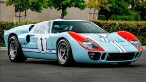 Σε δημοπρασία το Ford GT40 από την ταινία «Ford v Ferrari»