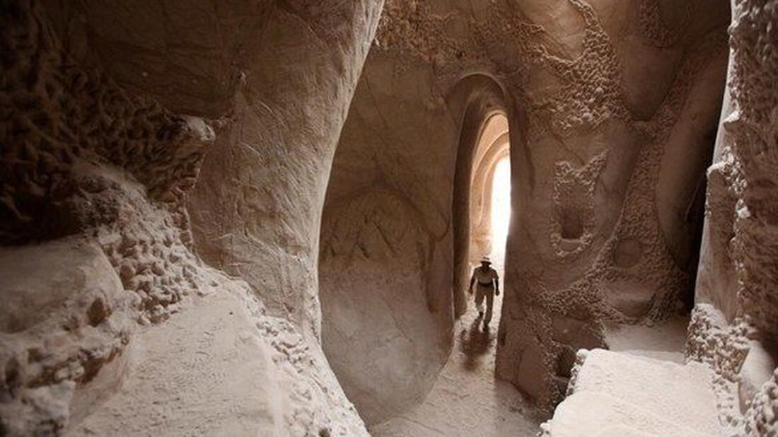 Οι χειροποίητες σπηλιές του Νέου Μεξικού