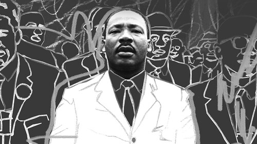 Ο Martin Luther King πάλεψε για όλη την ανθρωπότητα