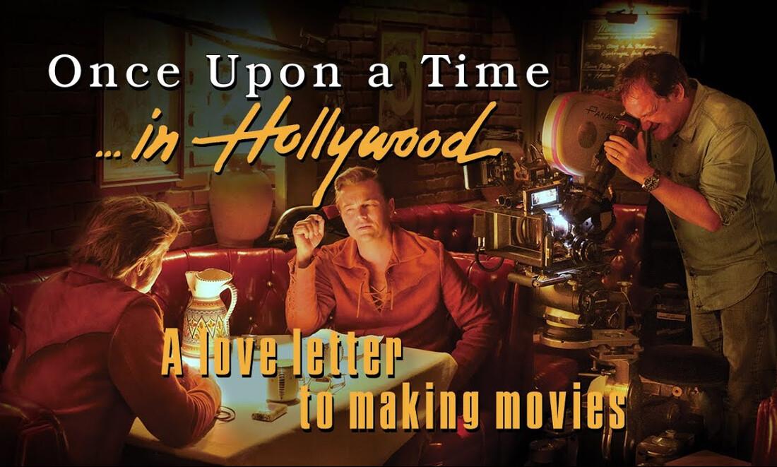 Κανείς δεν λέει όχι σε ένα μίνι ντοκιμαντέρ του Once Upon a Time… in Hollywood