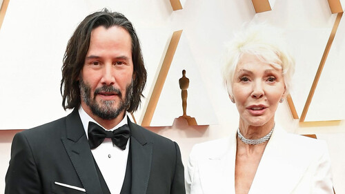 Ο Keanu Reeves έφερε στα Όσκαρ τη μαμά του