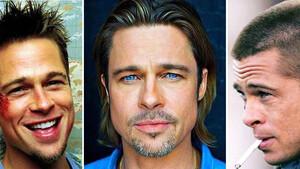 Μία ματιά στα καλύτερα χτενίσματα του Brad Pitt
