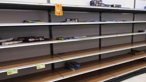 Κοροναϊός - Ιταλία: Σκηνές χάους! Αδειάζουν τα ράφια των σούπερ μάρκετ