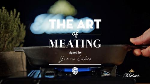 """Η Kaiser και ο ταλαντούχος chef Γιάννης Λιόκας μας μαθαίνουν τα μυστικά του """"meat-ing"""""""