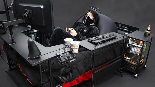 Αυτό είναι το πρώτο gaming κρεβάτι και το φτιάξανε Ιάπωνες