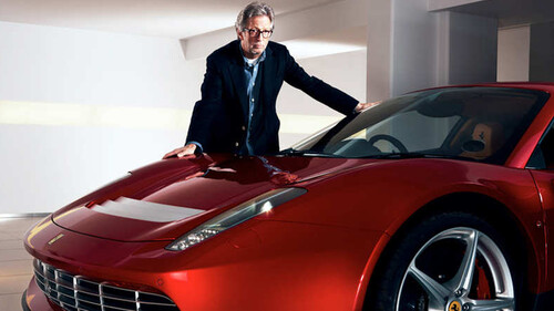 H διάσημη συλλογή Ferrari του Eric Clapton