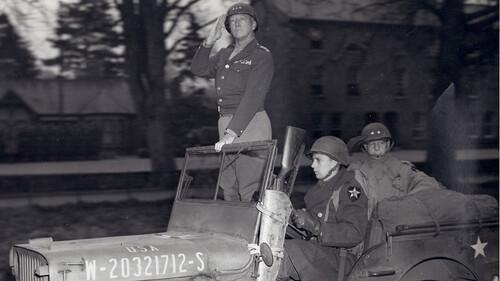 Μία ματιά στο ηρωικό τζιπ του στρατηγού George Patton
