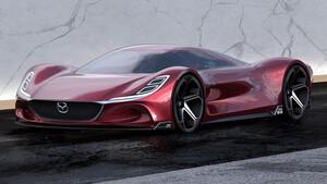Η απόκοσμη αύρα του Mazda RX-10 Vision