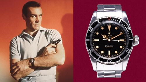Το ρολόι που έδωσε στον Sean Connery τον ρόλο του James Bond