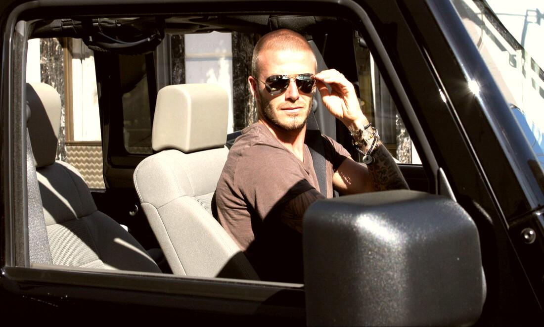 Η αψεγάδιαστη συλλογή αυτοκινήτων του David Beckham