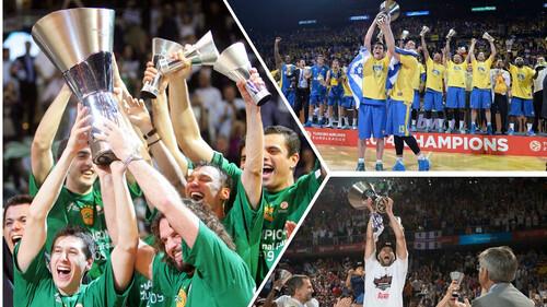 Triple Crown: Οι ομάδες που τα πήραν όλα σε μια σεζόν! (vids&photos)