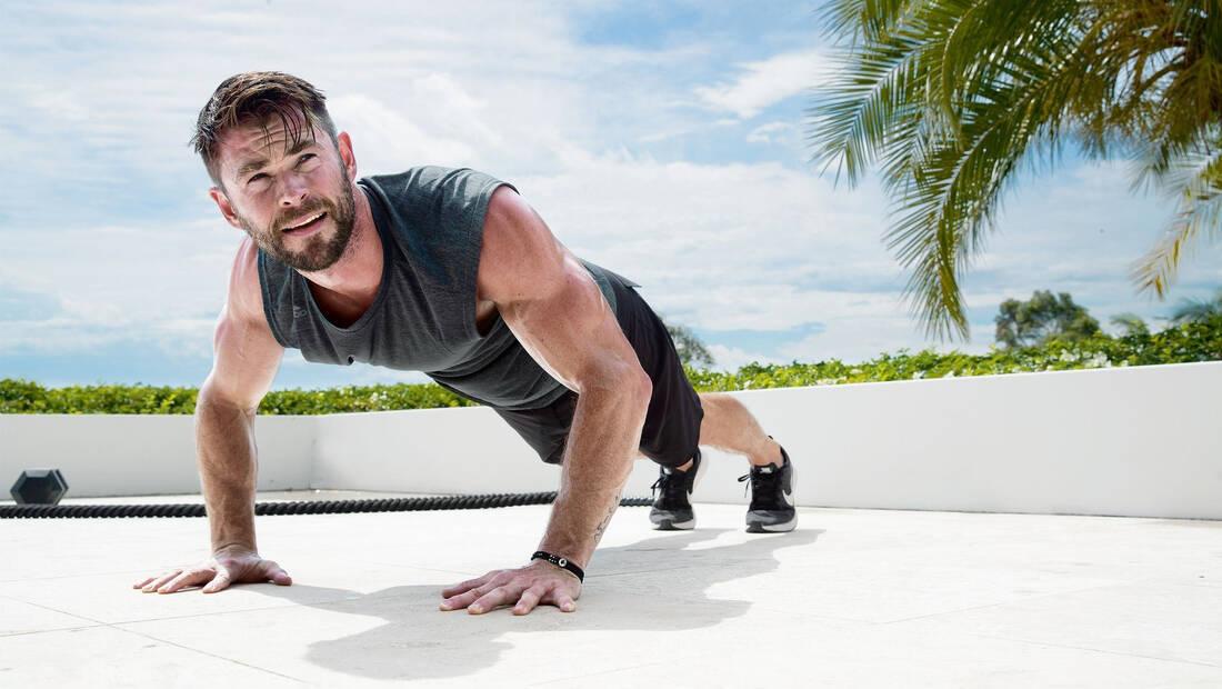 Πώς τα push ups έσωσαν τον ρόλο του Chris Hemsworth