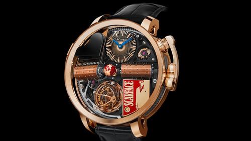 Το Scarface μόλις απέκτησε το ρολόι που του αξίζει
