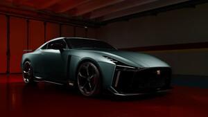 Αυτό το Nissan GT-R50 το ονομάζουν Godzilla και φυσικά υπάρχει λόγος