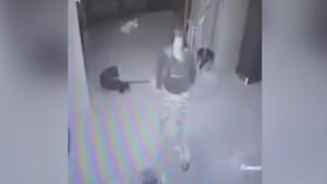 Εικόνες ΣΟΚ: Μητέρα πέταξε το δίμηνο μωρό της στο πάτωμα γιατί τσακώθηκε με τον εραστή της (video)
