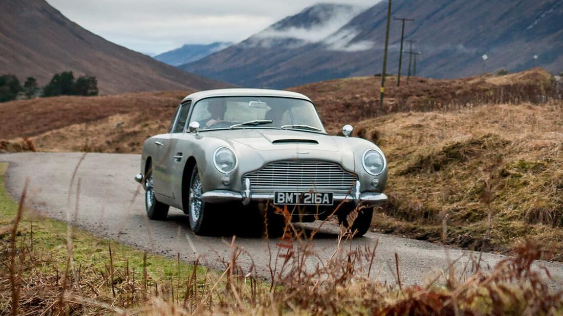 H Aston Martin DB5 επιστρέφει χωρίς τον James Bond