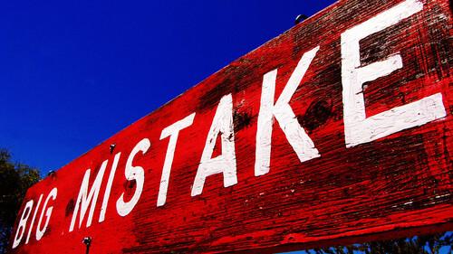 Τα δέκα μεγαλύτερα λάθη στην ανθρώπινη ιστορία