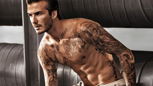 David Beckham: Εκτός από μπάλα ξέρει κι από τέχνη του δέρματος