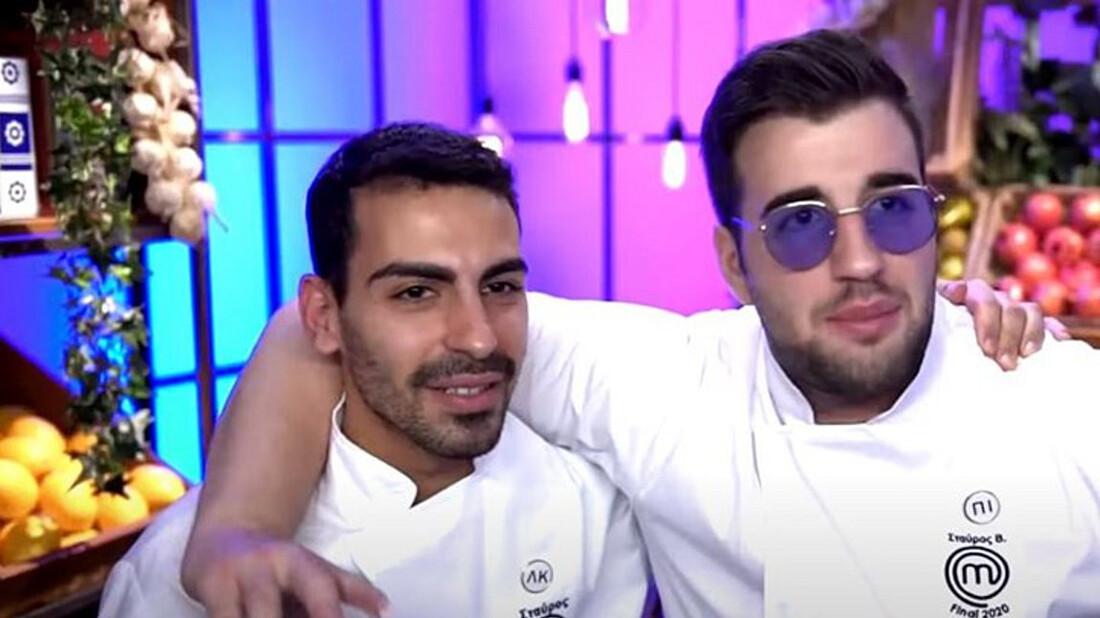 Master Chef: Σταύρος και Σταυρής παρέδωσαν μαθήματα ανδρικής φιλίας