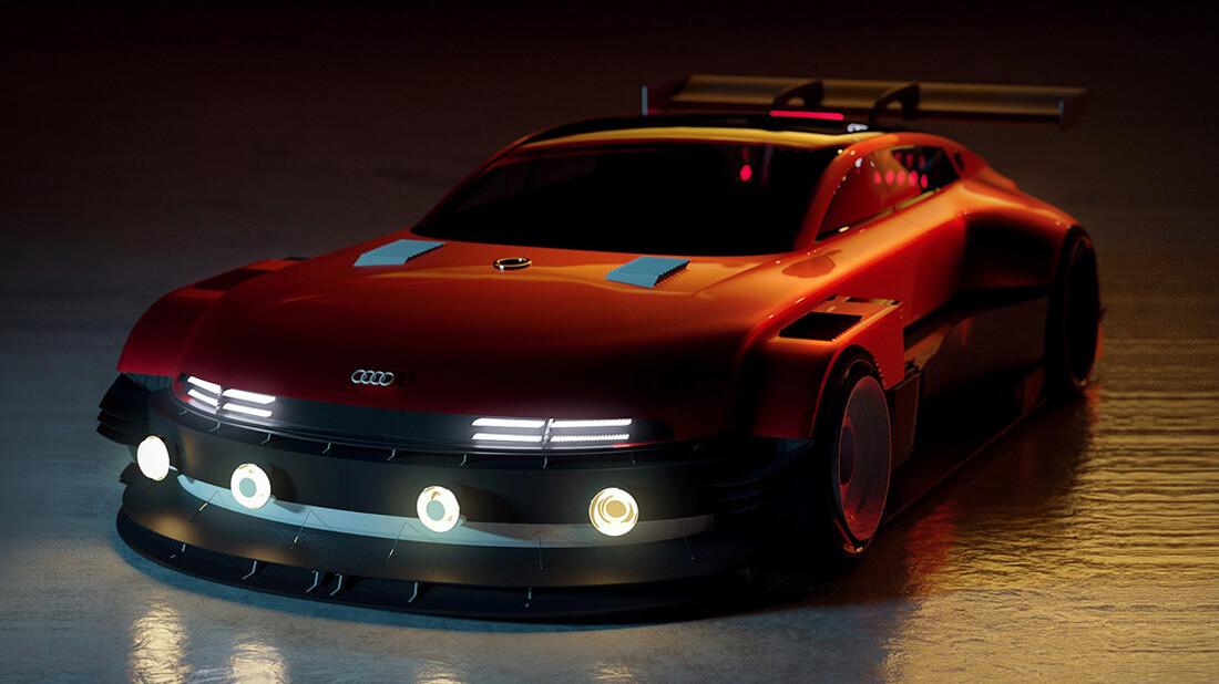 Αυτό το Audi GT βαριέται εύκολα