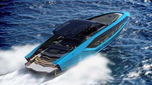 H Lamborghini του νερού ανταγωνίζεται εκείνη της ασφάλτου